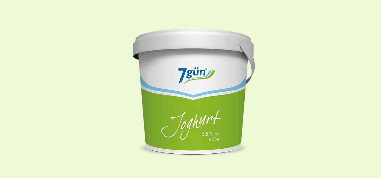 7gün Joghurt 3,5 % Fett 5 kg