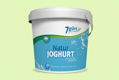 7gün Joghurt 3,8 % Fett 10 kg