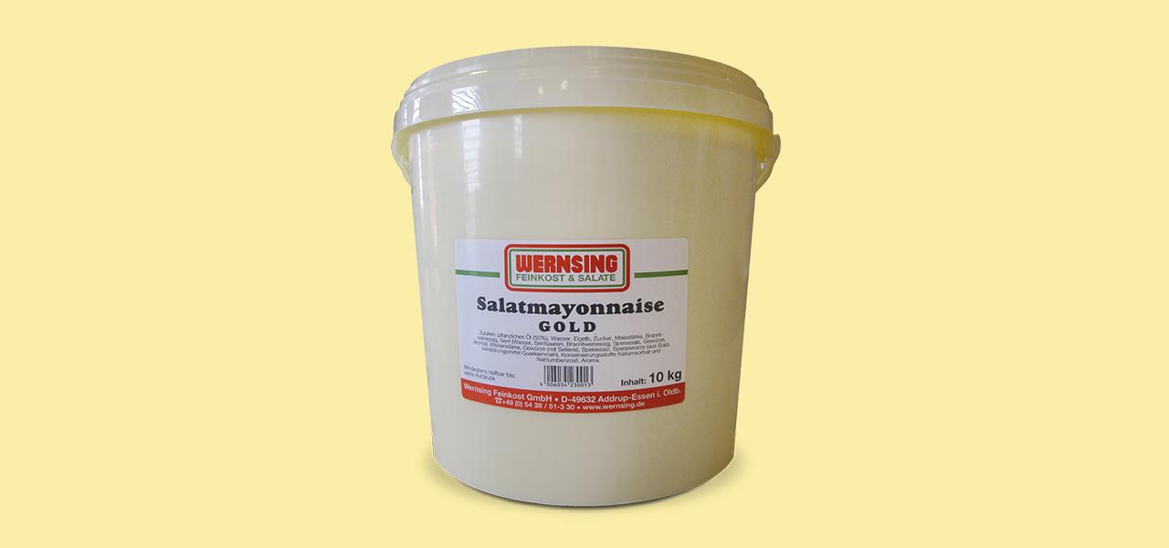 Wernsing Salatmayonaise Gold, 50% Fett